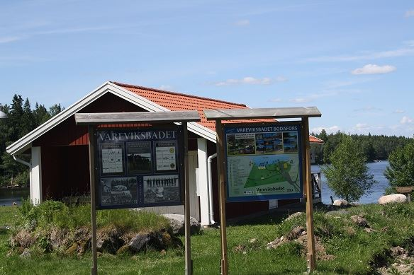 Varevik bathing place, Storesjön Lake, Bodafors