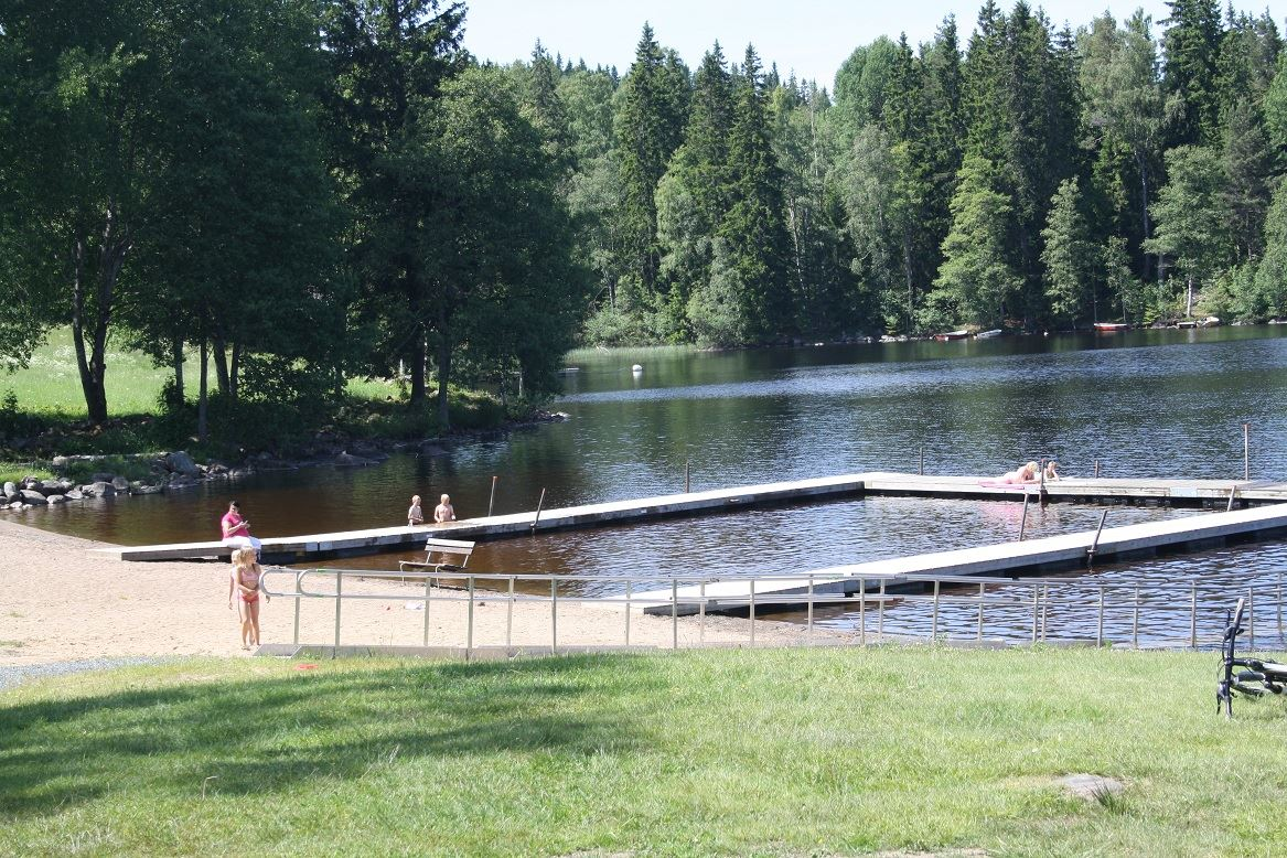 Anette Schildt, Vareviksbadet, Storesjön, Bodafors