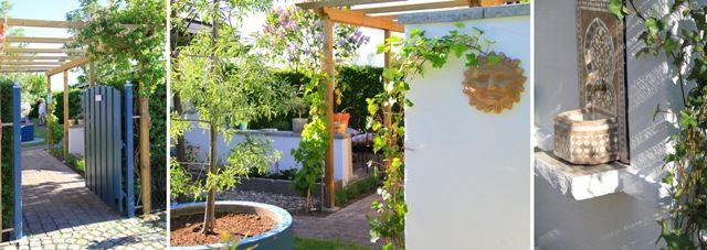 På Livex kan du besöka en medlehavsträdgård.