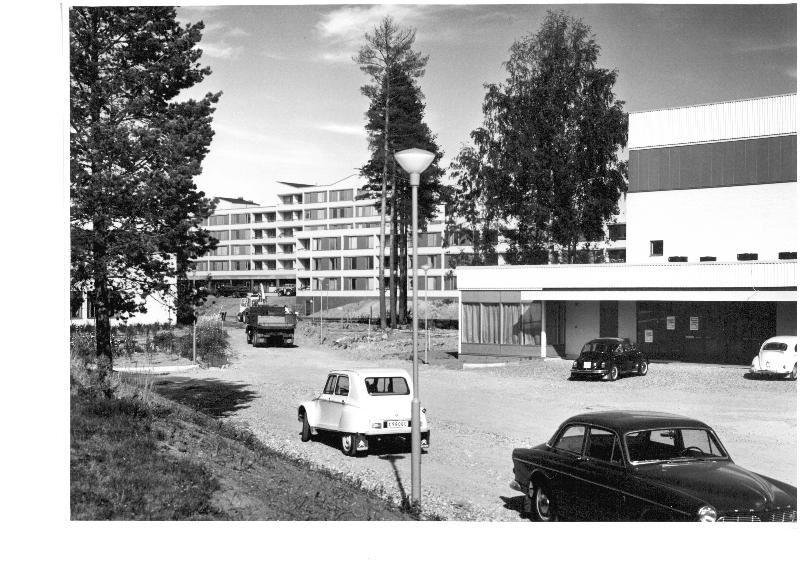 """Gavlegårdarna, Fritidsgården """"Träffen"""" fungerade som en samlingsplats för ungdomarna i Sätra."""