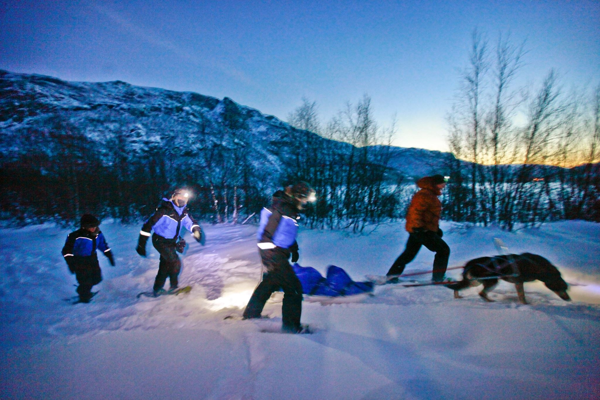 Ski trek across the plains of Finnmark - 4 day expedition