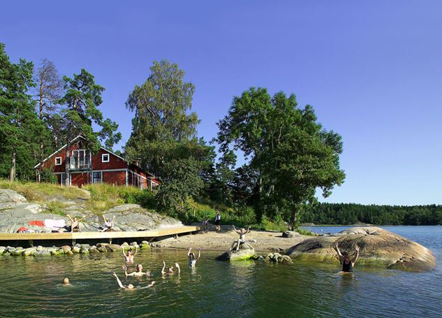 Siaröfortet, STF Gästehaus