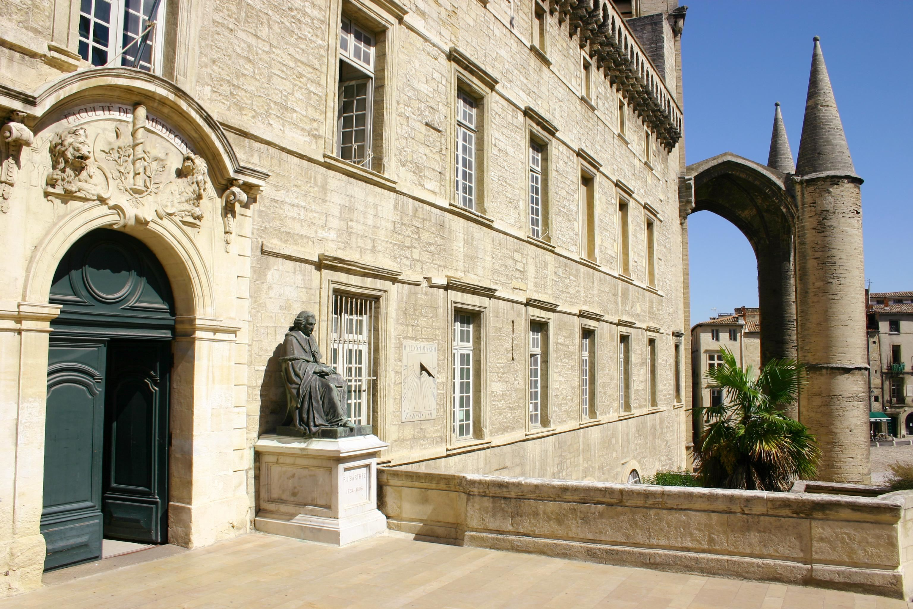 Visit Montpellier - Guided city tour in English: Faculty of Medicine