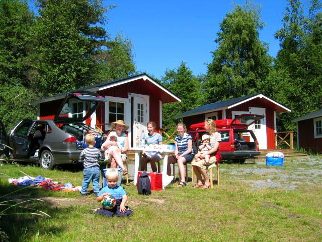 Kapellskärs Camping/Ferienhäuser