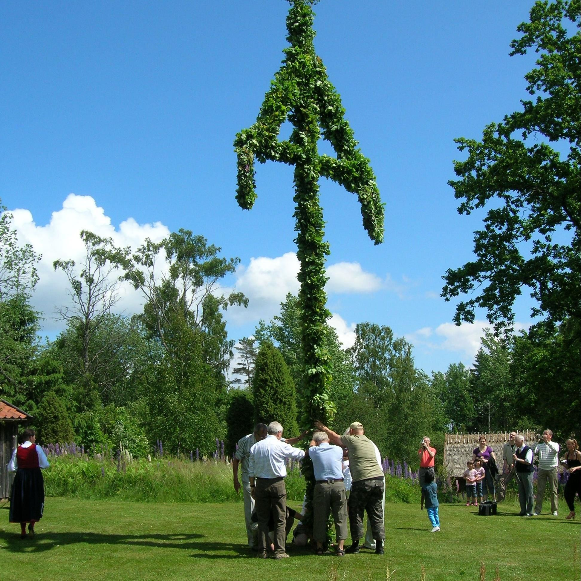 © Värnamo Näringsliv AB , Midsommar i Hångers Hembygdspark