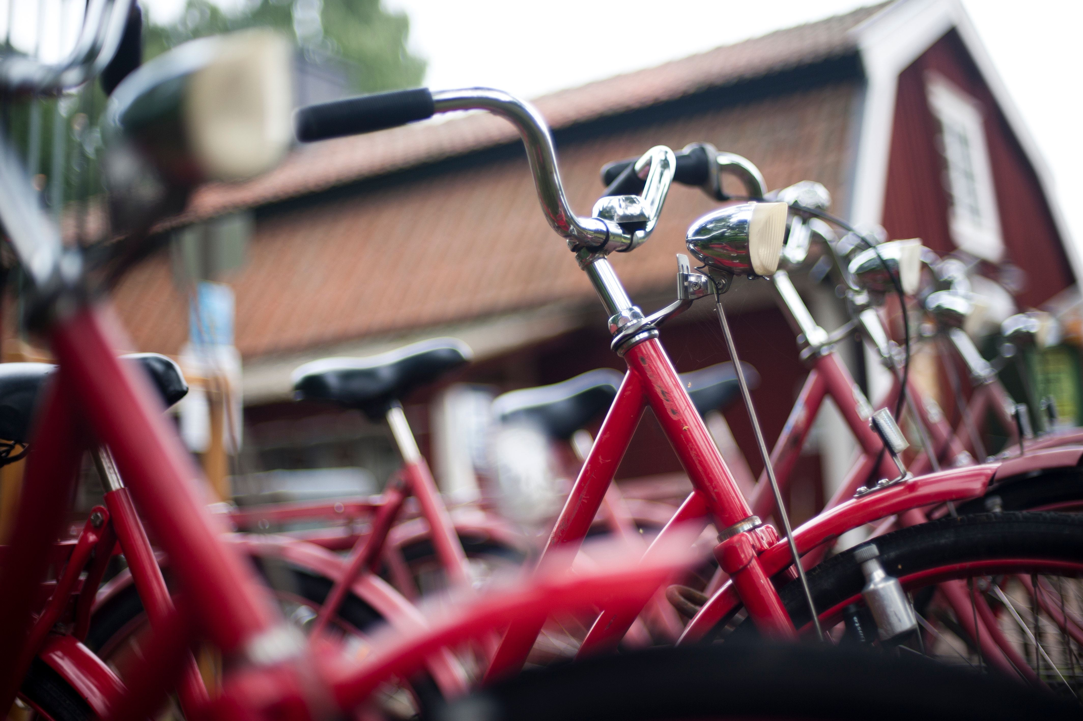 Bicycle rental at Skogslunds Camping