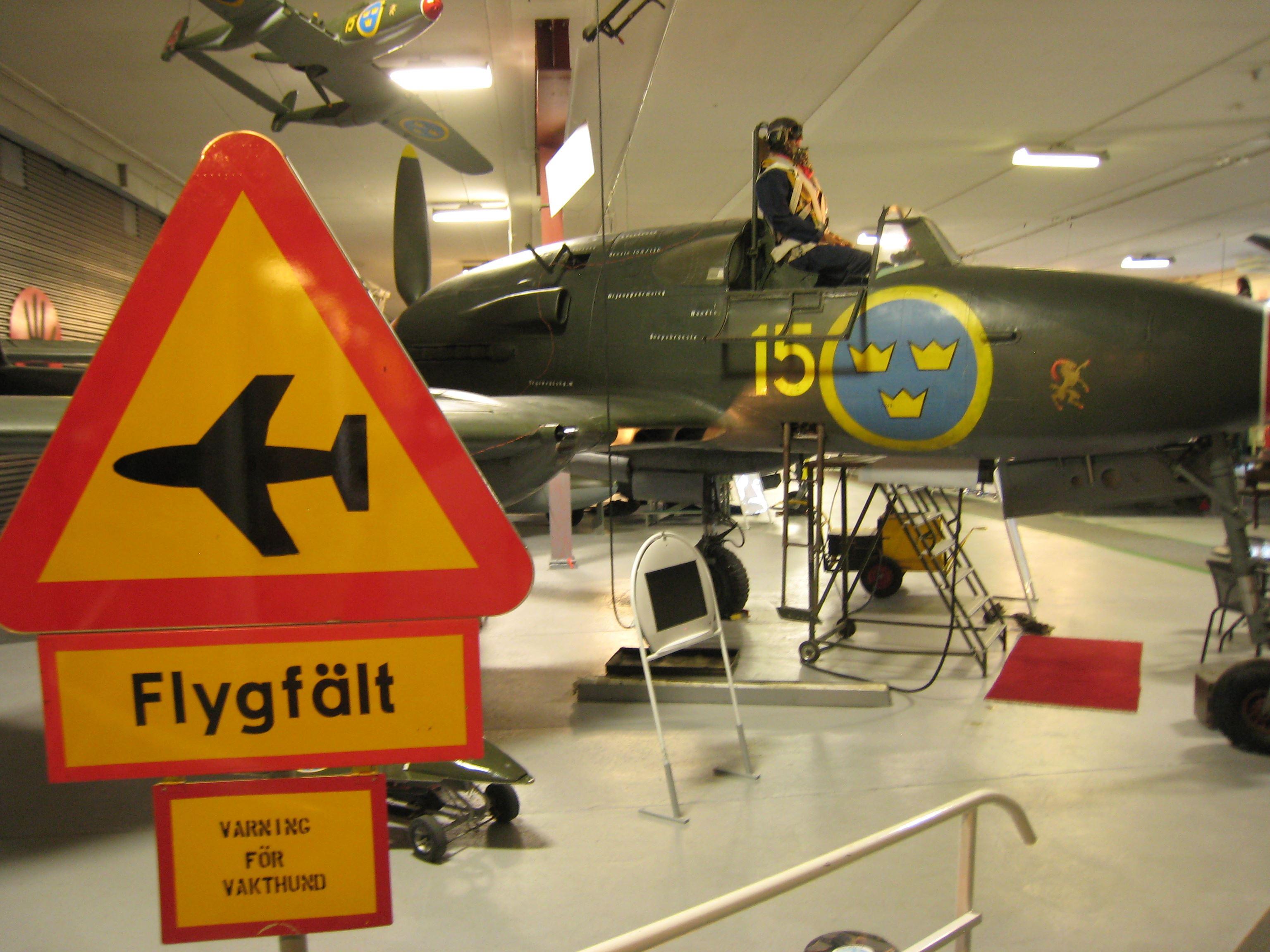 Flygmuseum i Söderhamn
