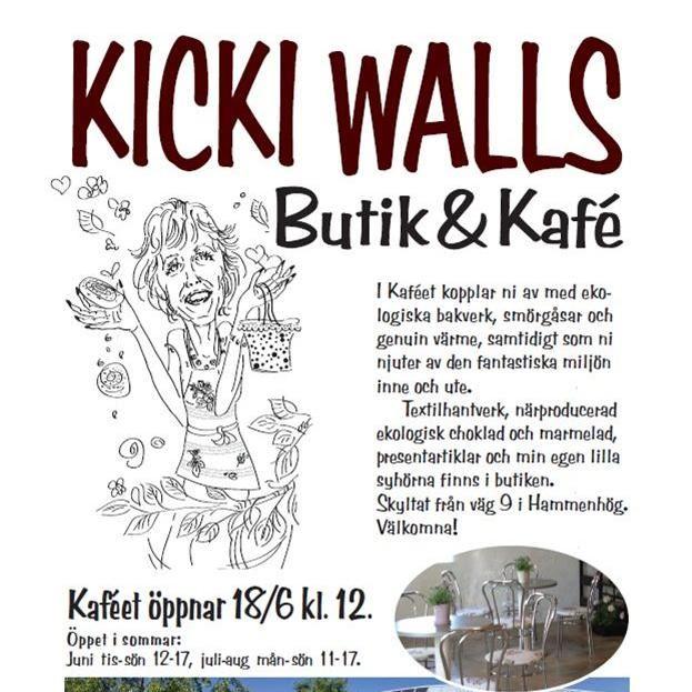 Kicki Walls Butik & Kafé