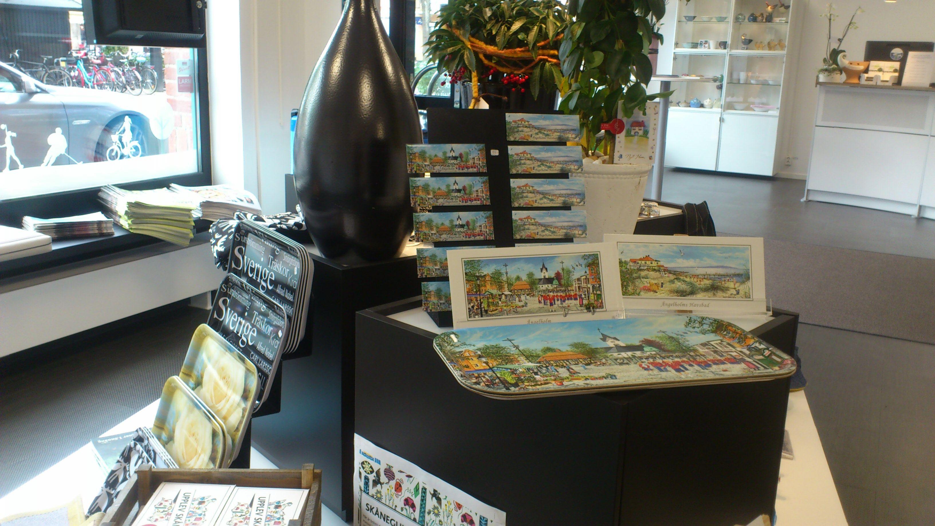 Turistcenters souvenirshop