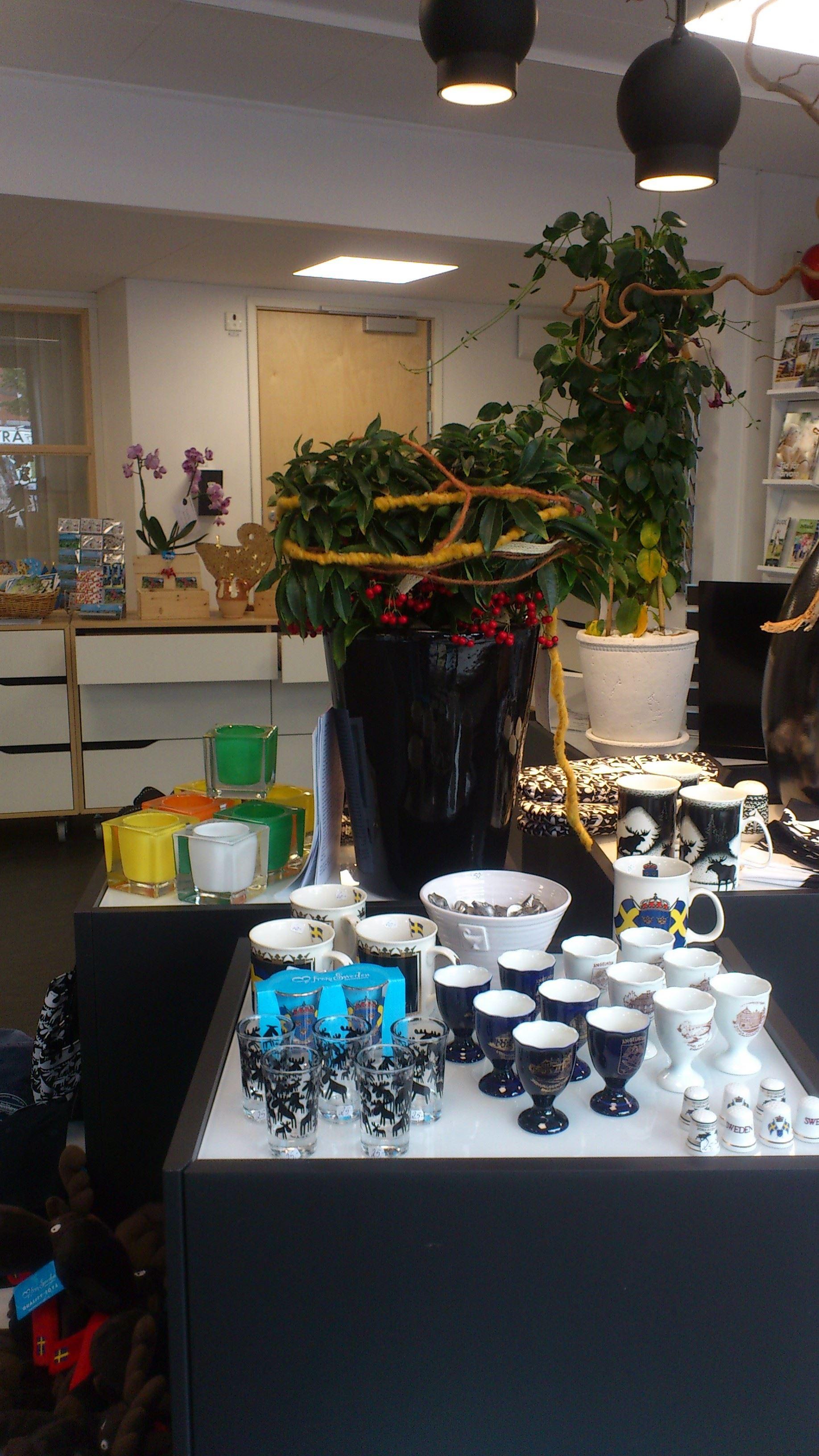 The Tourist Center's souvenir shop