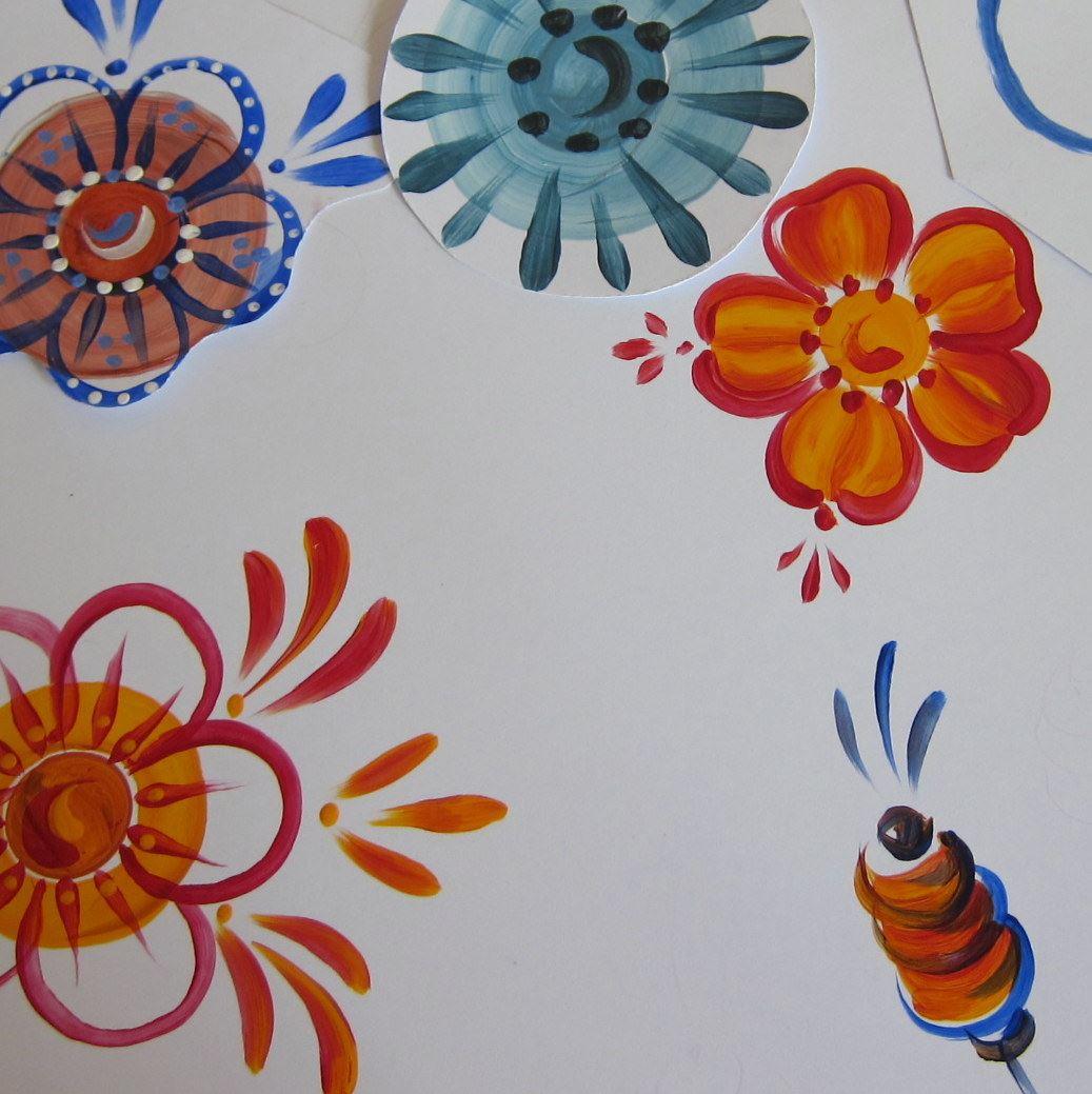 Åse Larsjos decorative painting