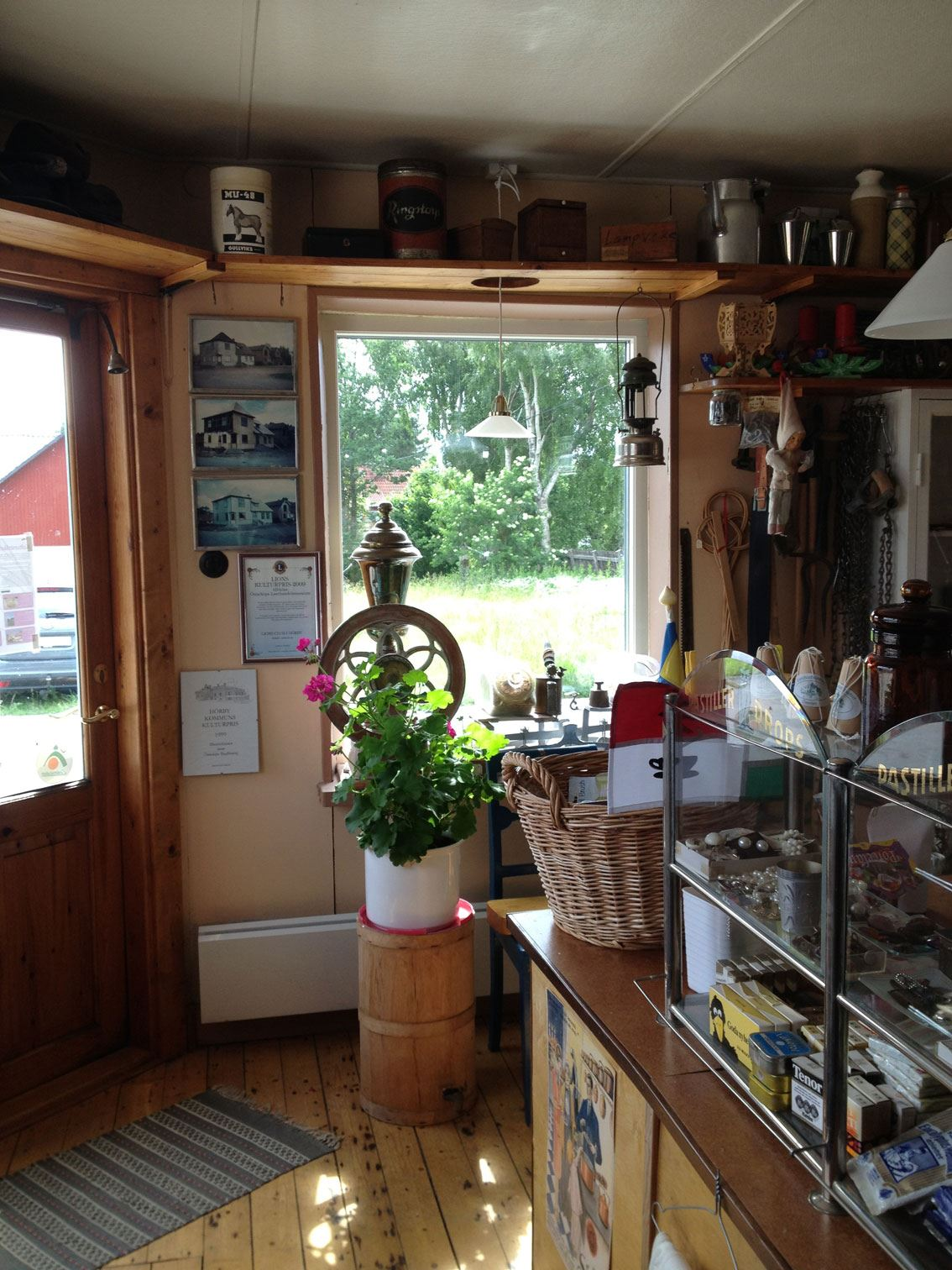 Cherie Palmzon,  © Linderödsåsens tursim, Lanthandelsmuséet in Önneköp