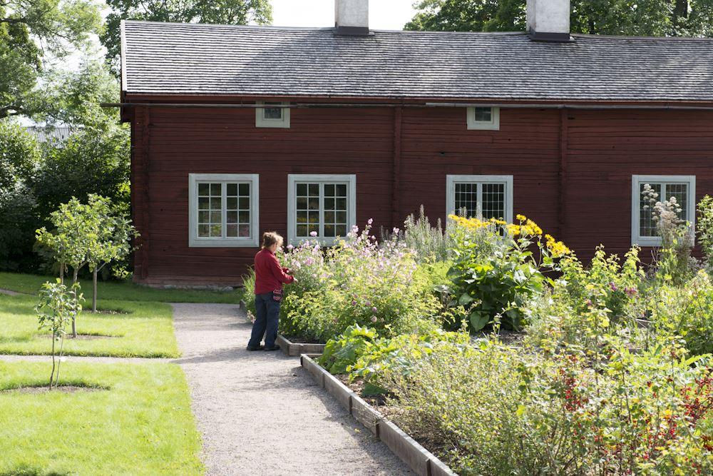 Jonas Lindgren, Linnés bröllopsstuga och trädgård