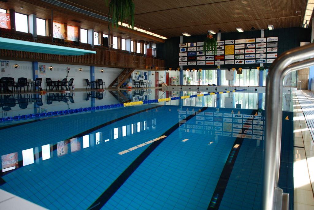 Anderstorp's indoor swimming pool