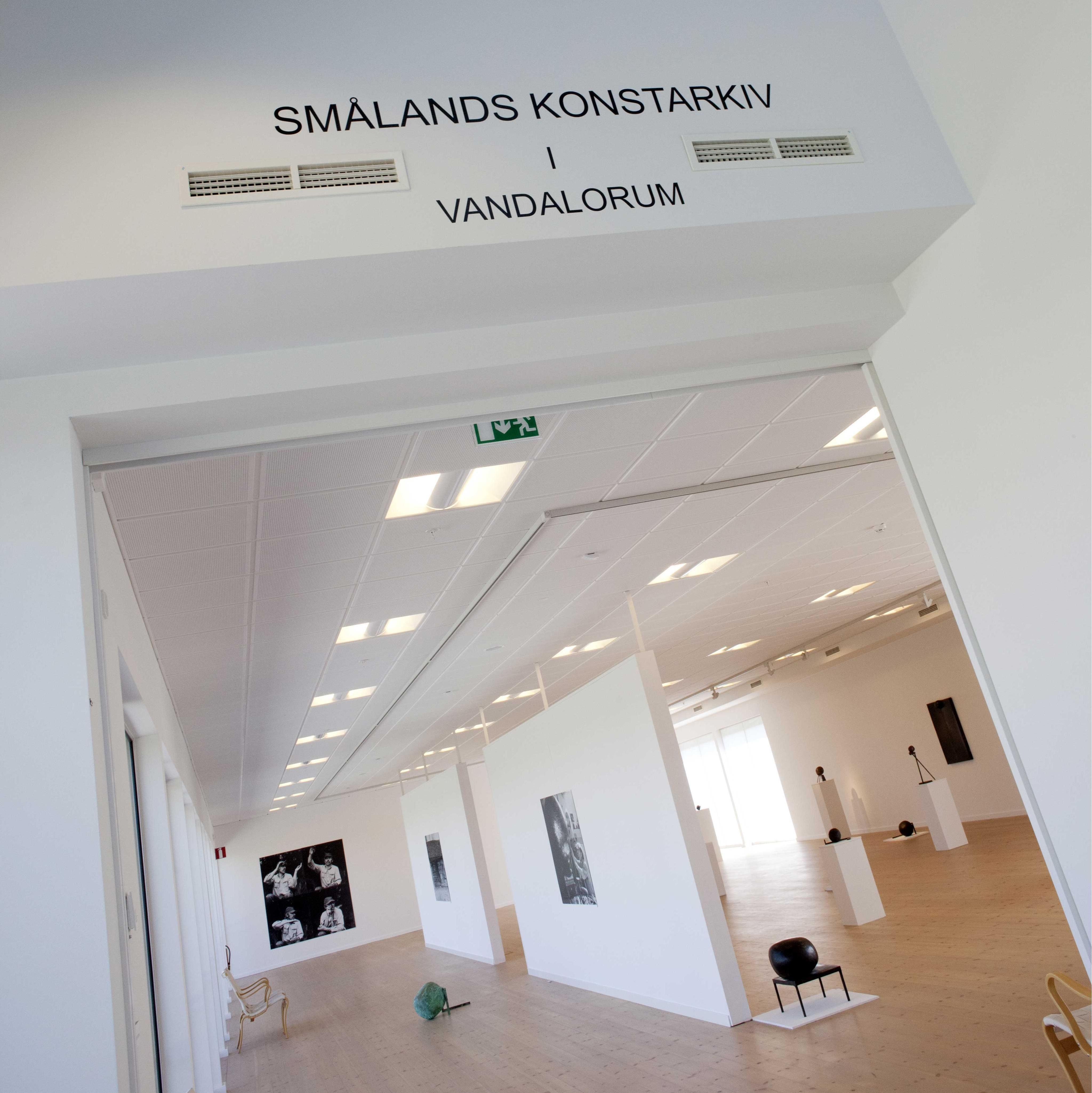 Foto: Smålandsbilder.se,  © Värnamo Näringsliv AB ,  Vandalorum und Smålands Konstarkiv