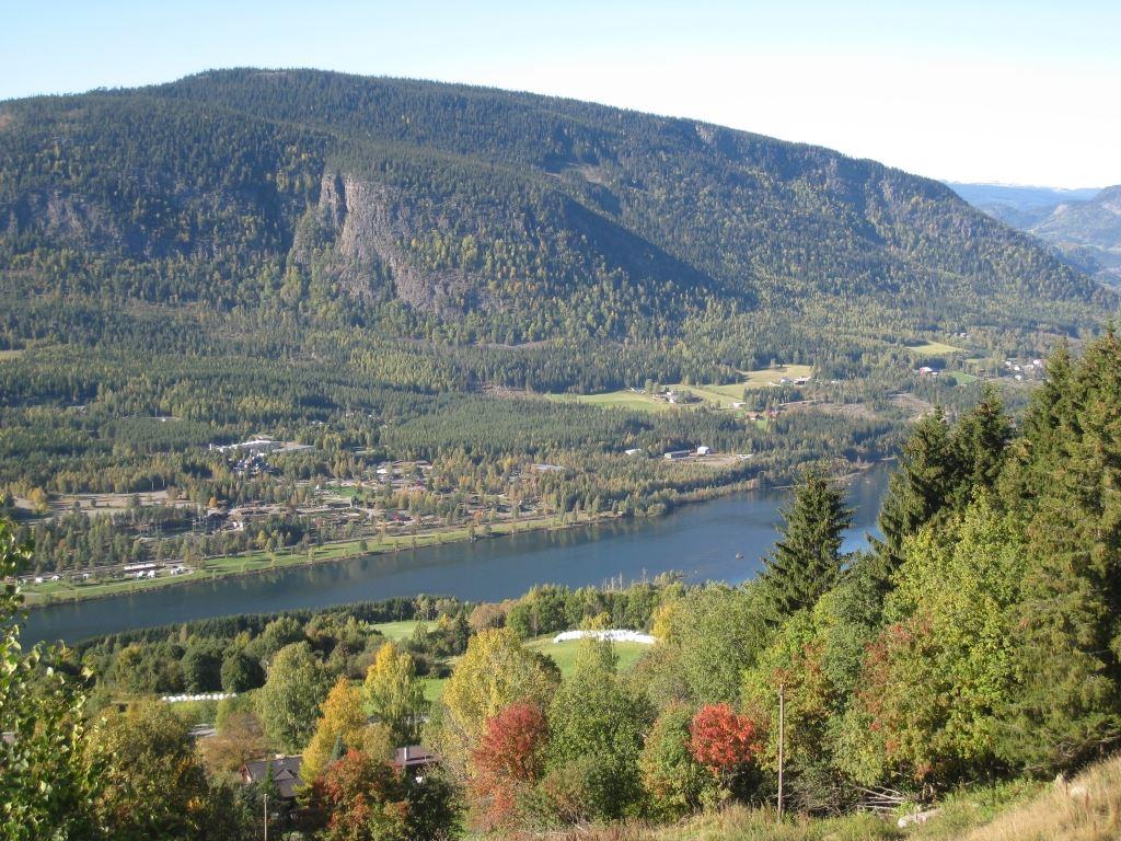 Hafjell Resort,  © Hafjell Resort, Utsikt utover Hafjell Hunderfossen