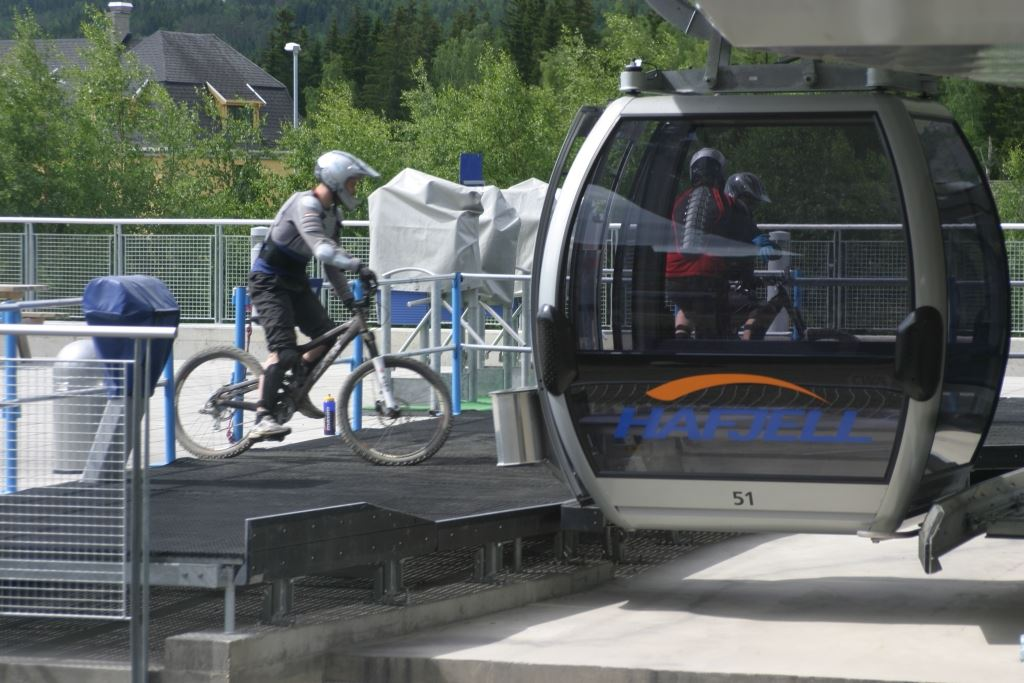 The Gondola in Hafjell Bike Park