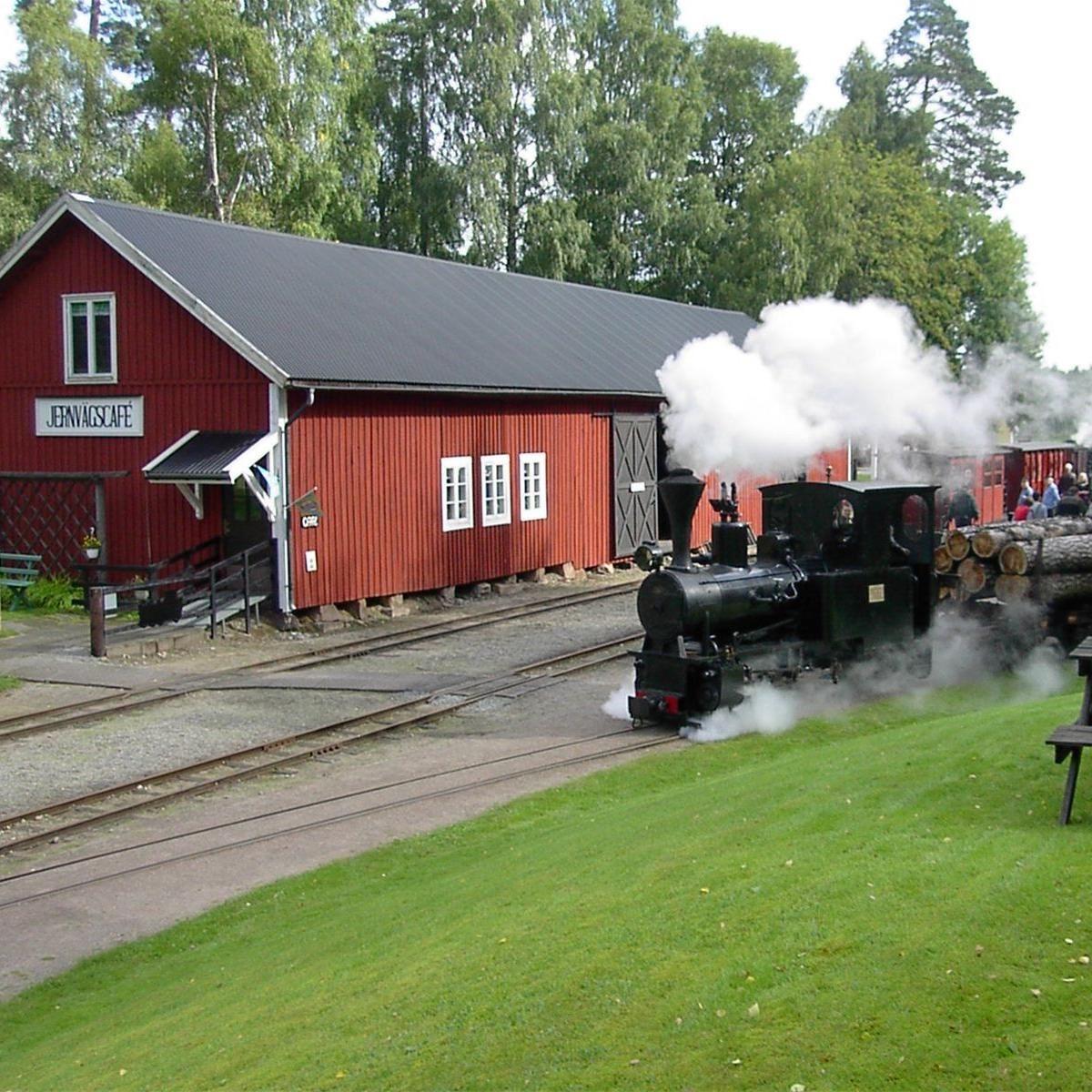 Foto: Lars Ljungkvist,  © Värnamo Näringsliv AB , Ohsabanan och Järnvägscaféet