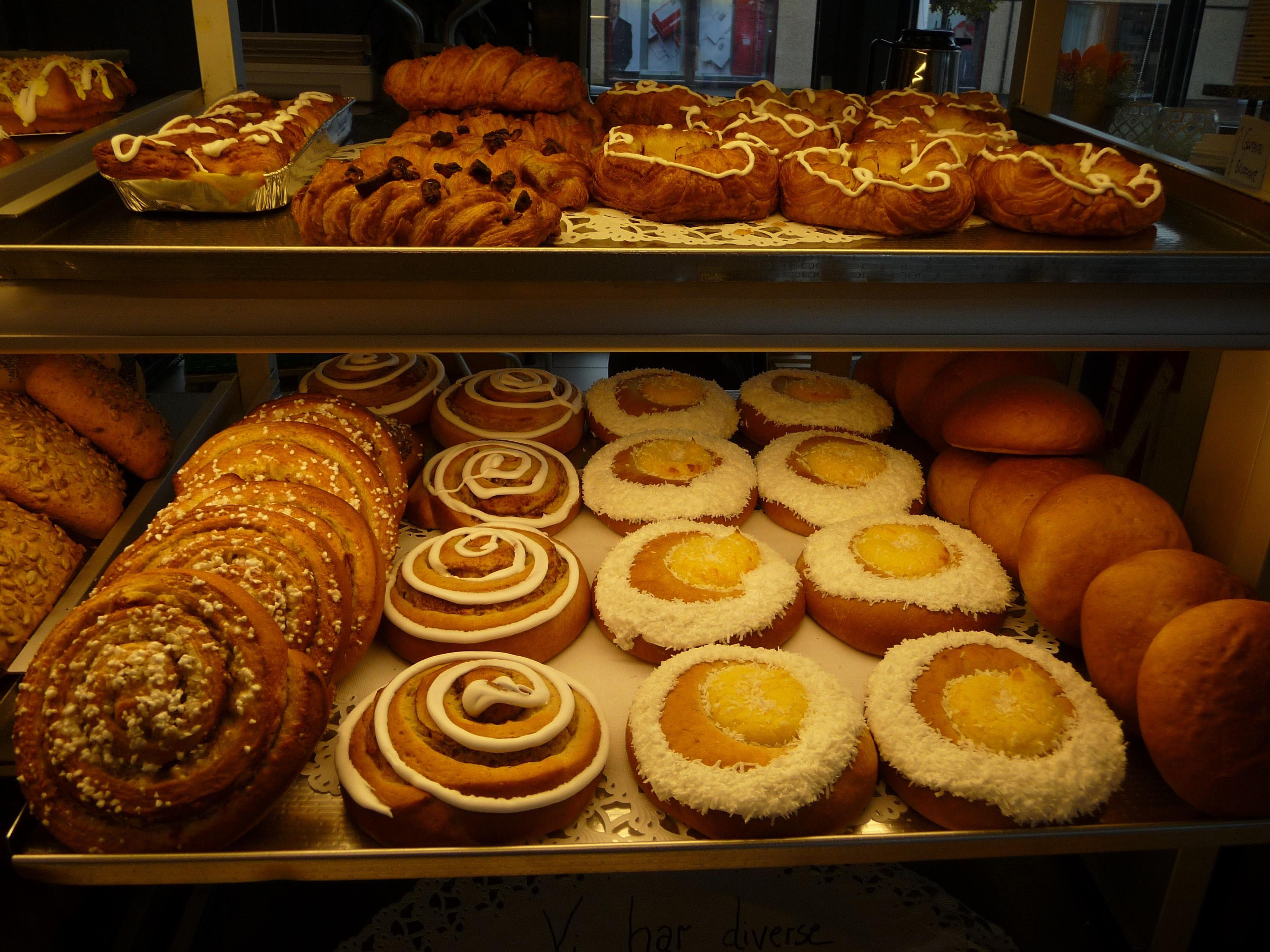 Den Glade Kalori,  © Den Glade Kalori, Ferske kaffebrød