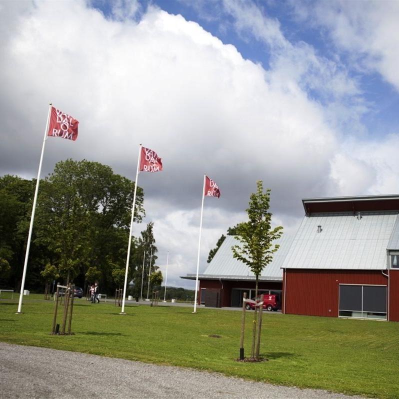 Foto: Smålandsbilder.se,  © Värnamo Näringsliv AB, Vandalorum konst- och designcenter med butik och restaurang