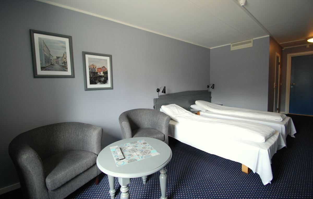 Mosjøen Hotell,  © Helgeland Reiseliv, Rom Mosjøen Hotell