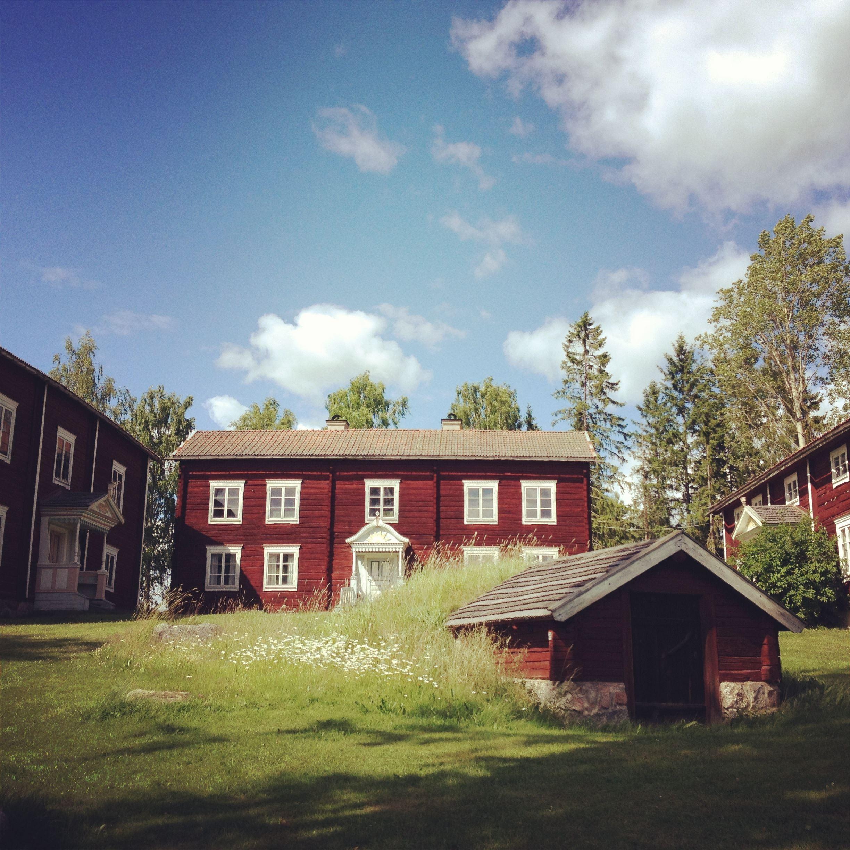Therese Blomdahl, Ol-Anders - Besökscenter, Världsarvet Hälsingegårdar