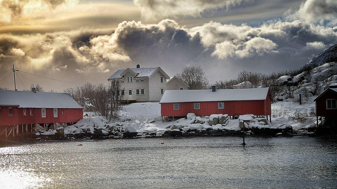 © Hattvika Lodge, Hovedbygningen