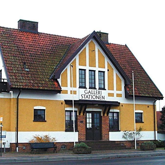 Mölle stationshus med annex