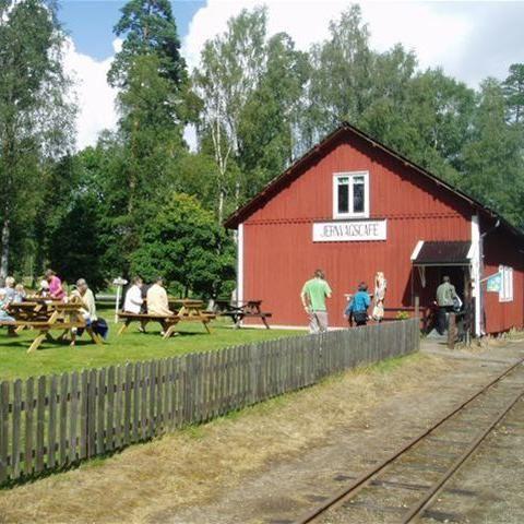 Foto: Ohsabanan Museijärnväg,  © Värnamo Näringsliv AB , Jernvägscaféet Ohsabanan