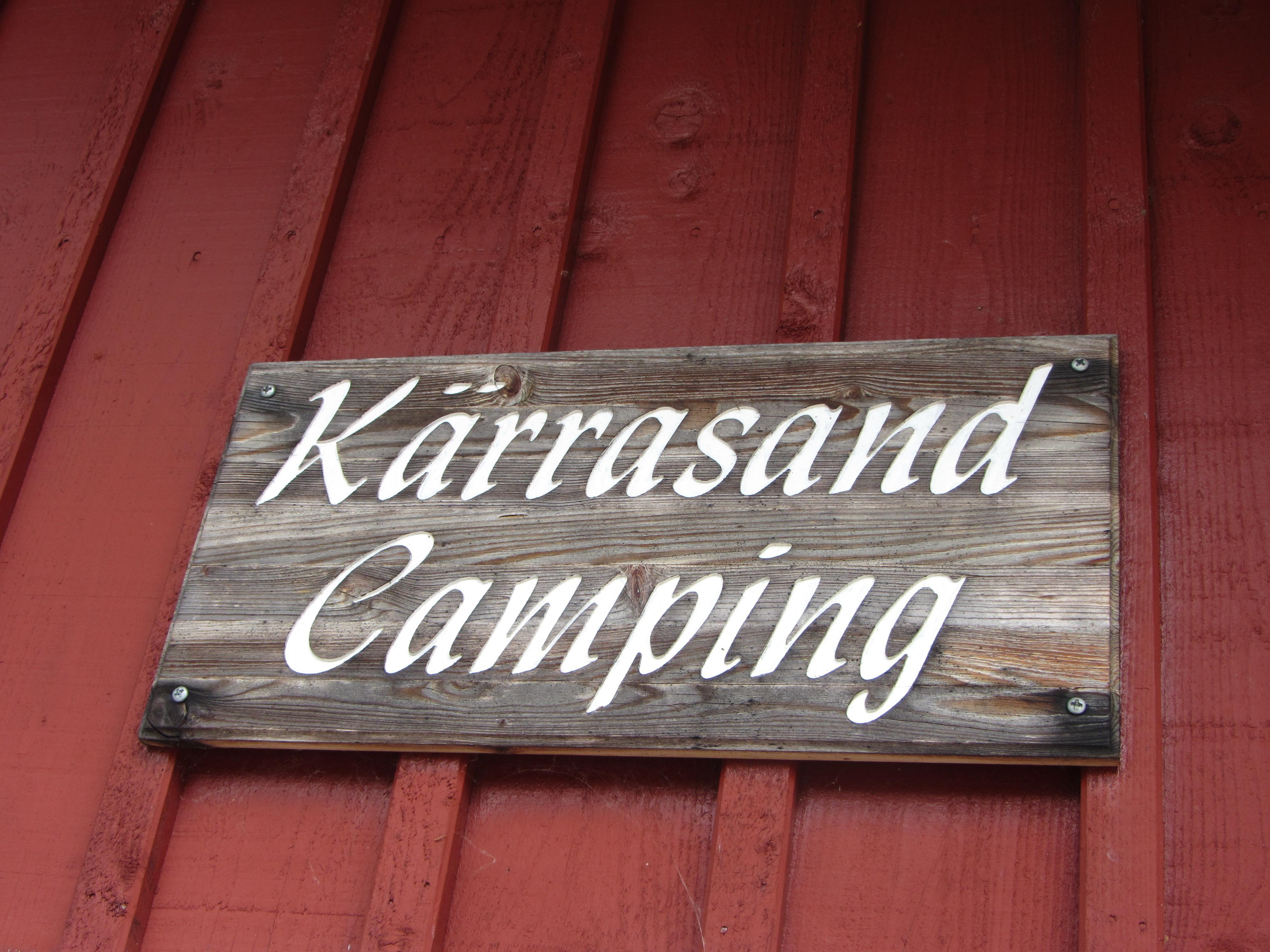 Karin Nilsson,  © Tingsryds Turistbyrå, Loppis på Kärrasands camping