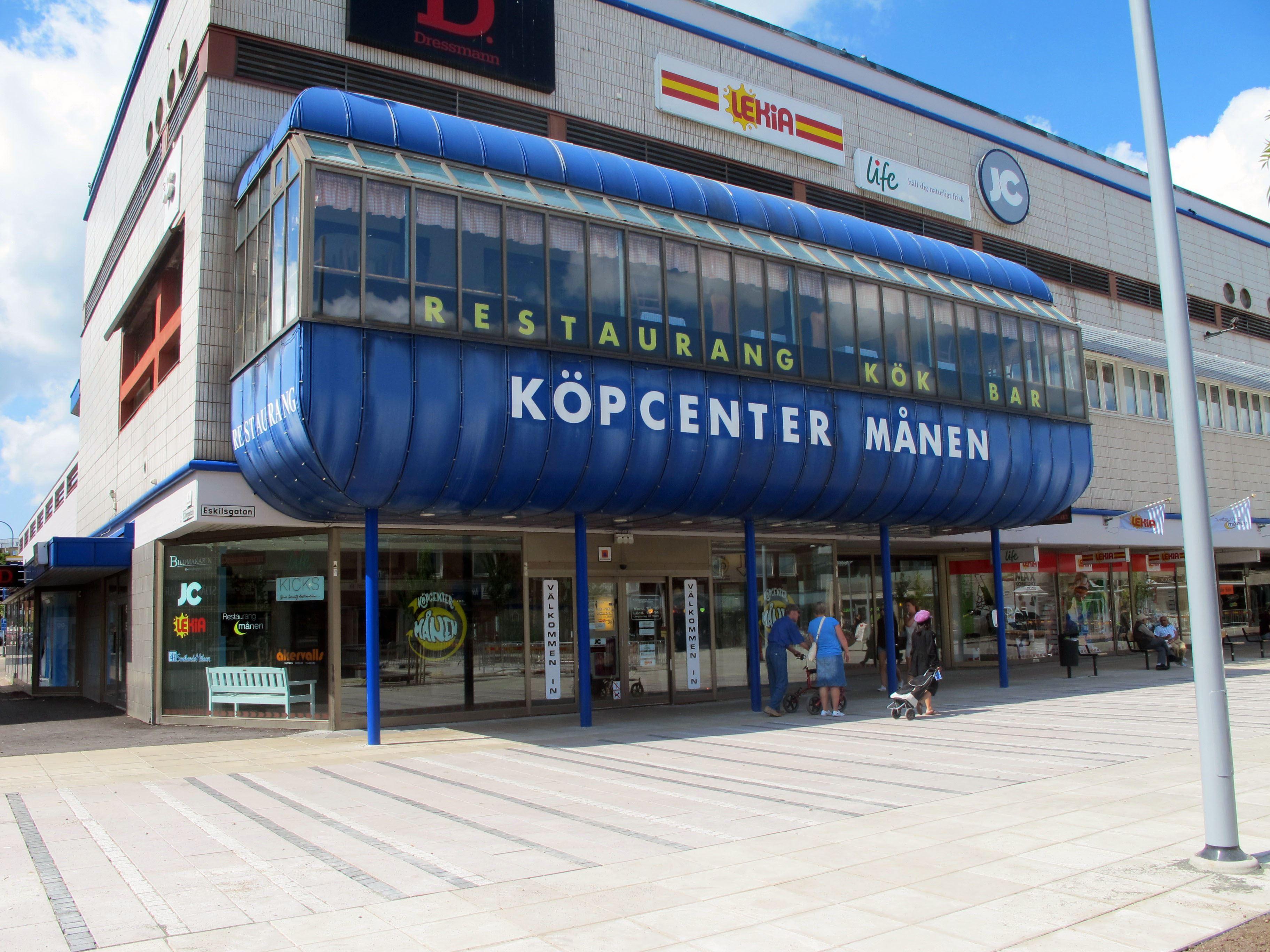 Köpcenter Månen-Einkaufspassage
