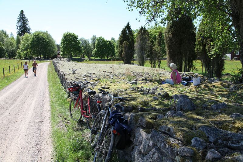 Cycle in the Småland highlands