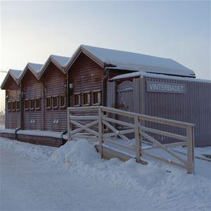 Foto: Vinterparken,  © Copy: Vinterparken, Hus i vinterparken