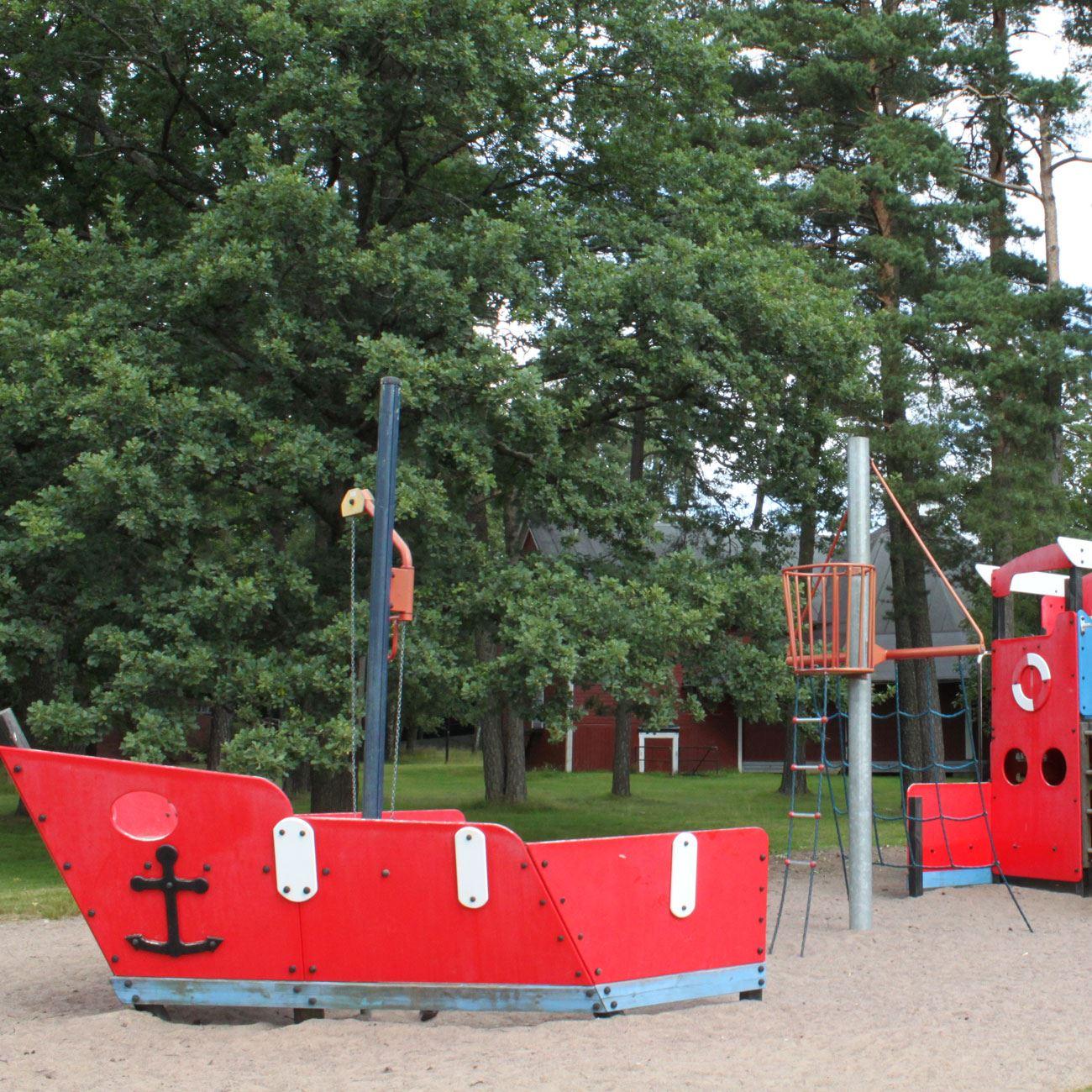 Foto: Värnamo Näringsliv AB,  © Värnamo Näringsliv AB , I Folkets Park finns även en bra lekplats