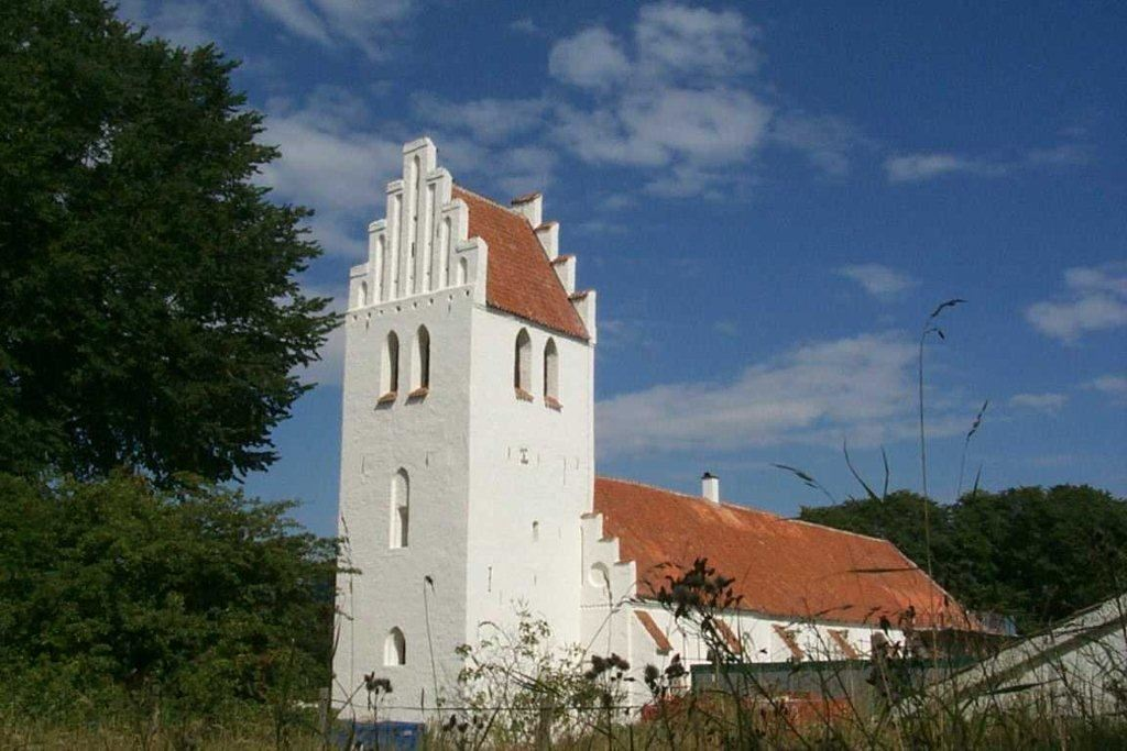 St Gertrud's church in Falsterbo