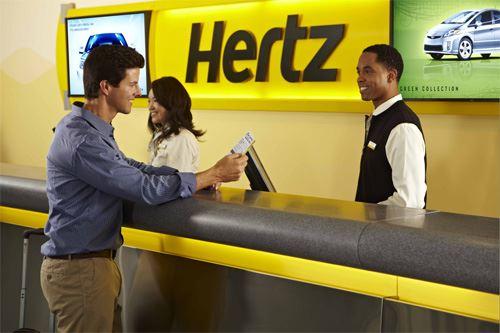 Hertz bilutleie AS
