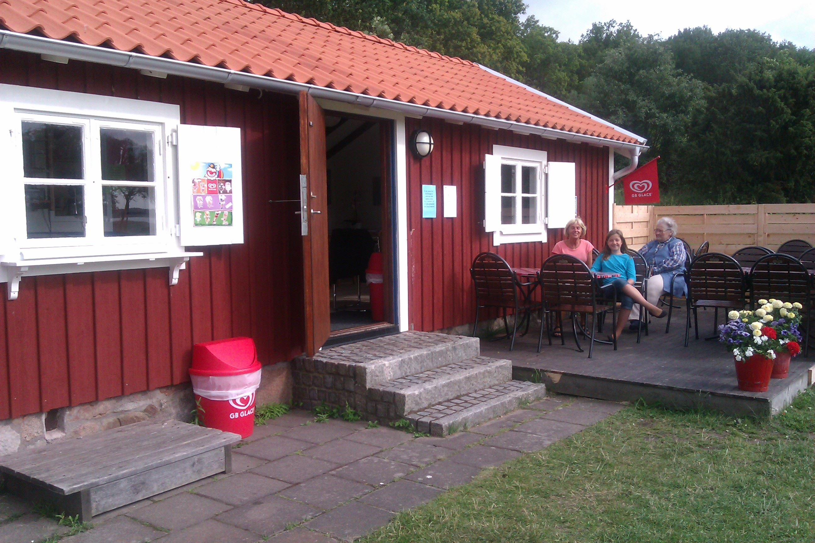 Kaffestugan i Hallarumsviken