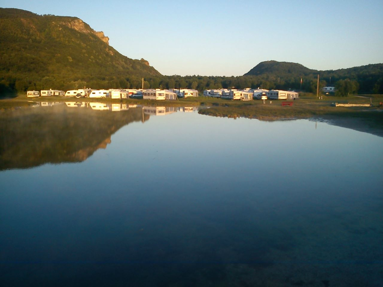 Geitvågen Bathing and Camping