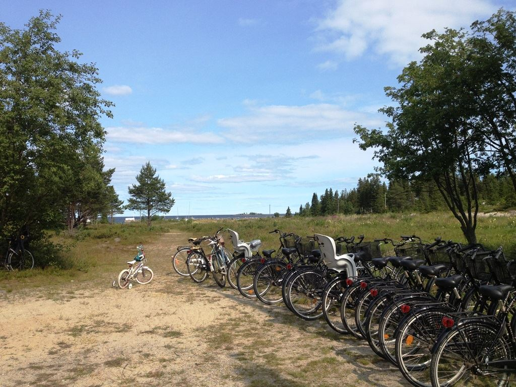 Cykeluthyrning Holmö havsbad