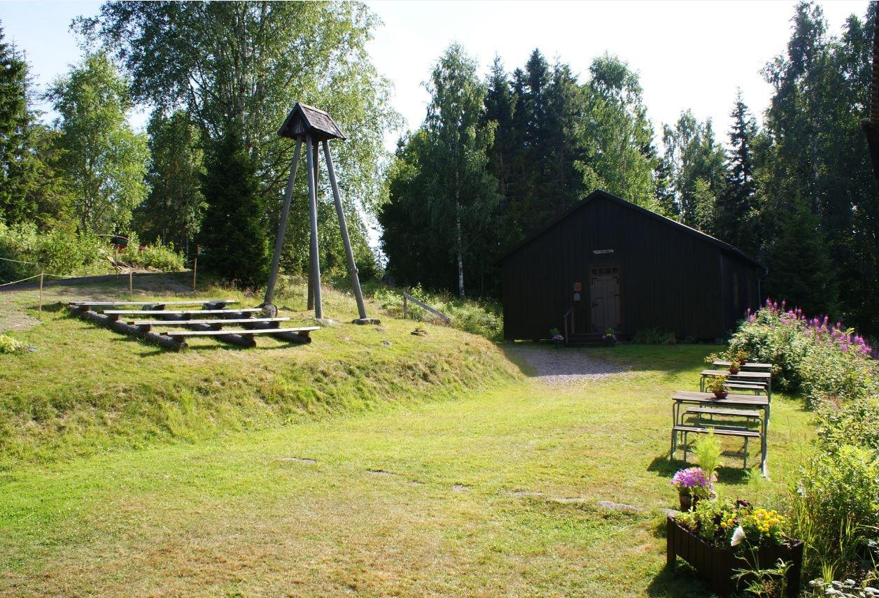 foto: Jessica Ögren,  © Kramfors kommun, Fällsviks kapell och klockstapel