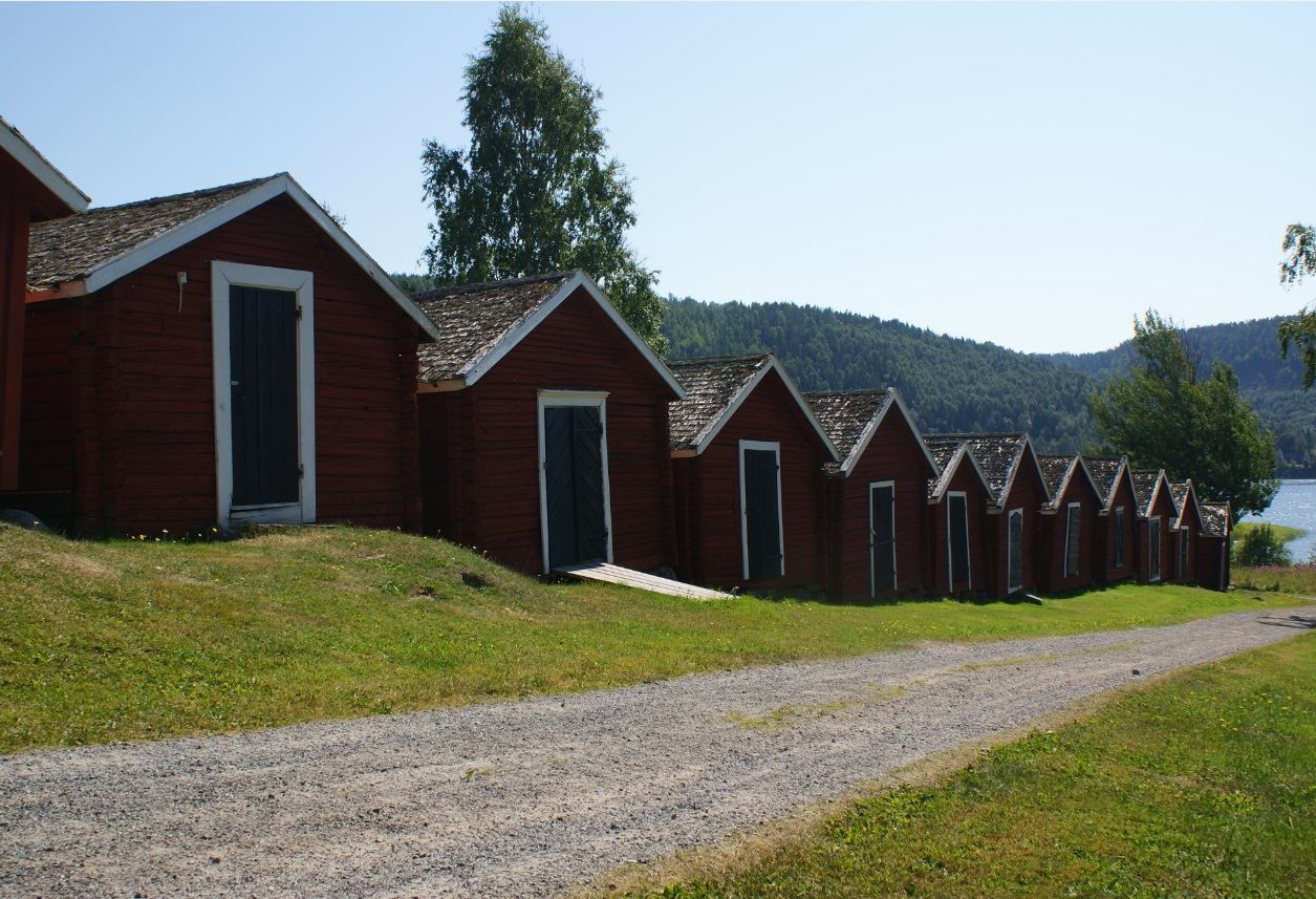 foto: Jessica Ögren,  © Kramfors kommun, Church stables in Nordingrå