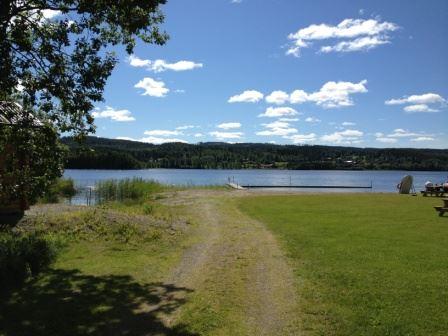 Badplatser i Ljungandalen