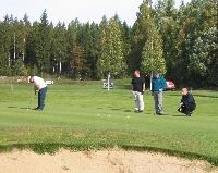 Golf i Rösaberg/Alfta