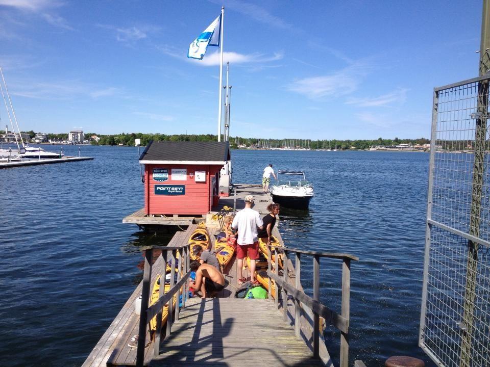 Kajakverleih bei Västerviks Sjömack