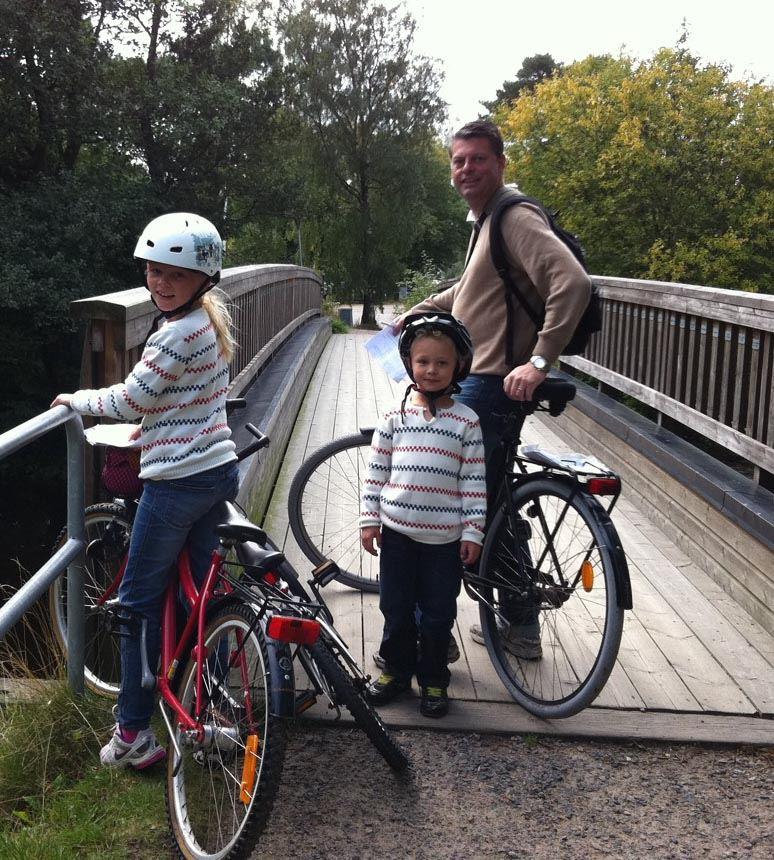 Cykla på Bjärehalvön