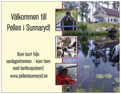 Pelles i Sunnaryd Bed & breakfast