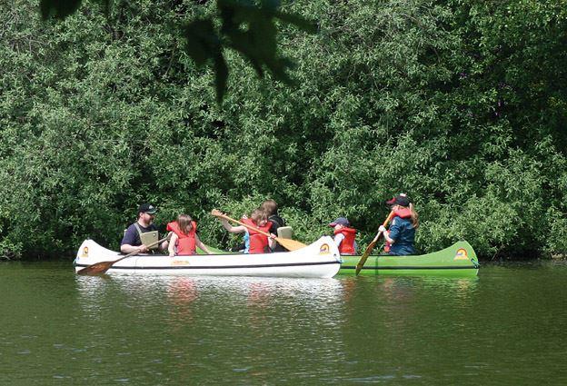 Tord Johansson, Canoe in Stockamöllan