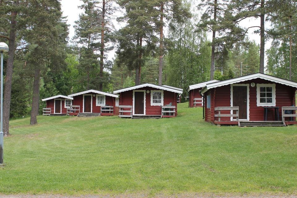 Hjortsjöns camping, Hjortsjöns camping - Stugor