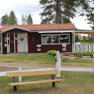 Hjortsjöns camping, Hjortsjöns camping - Reception