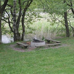 Hjortsjöns camping, Hjortsjöns camping - Grillplats